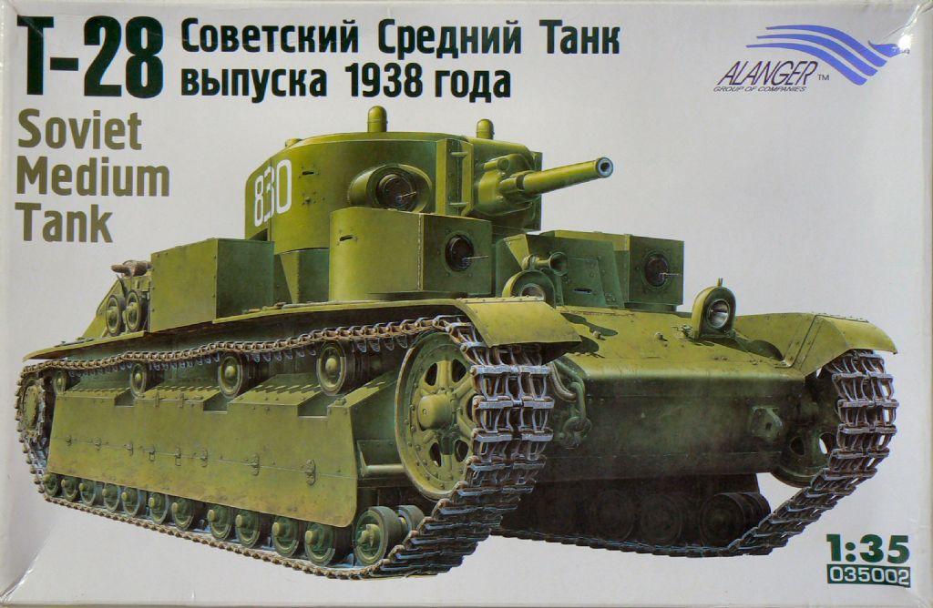 035002 T-28 Model 1938 Image