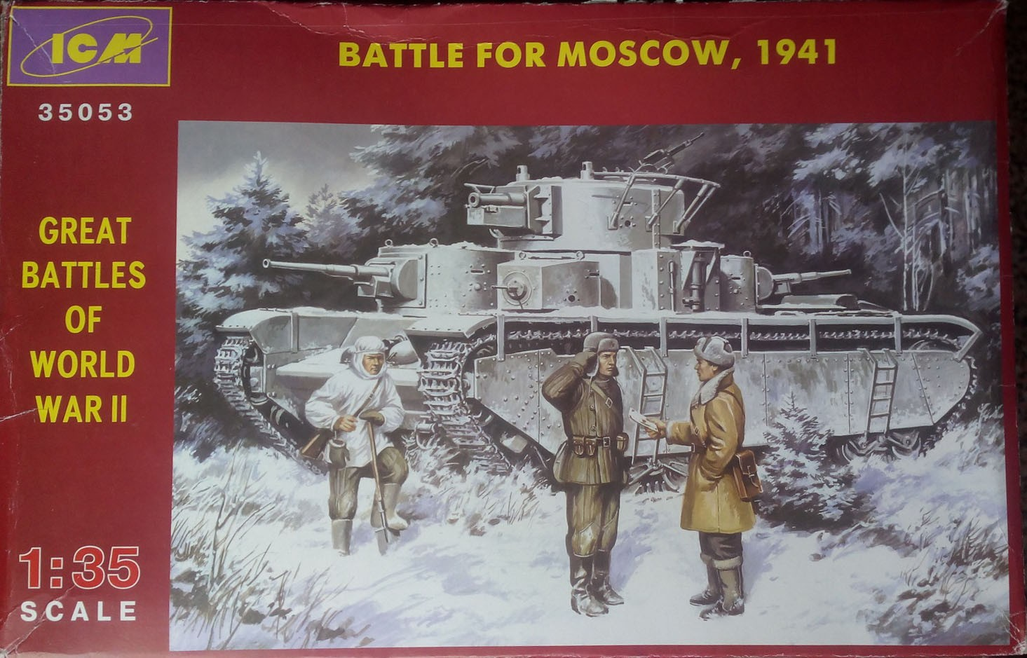 35053 Batle for Moscow, 1941 Image