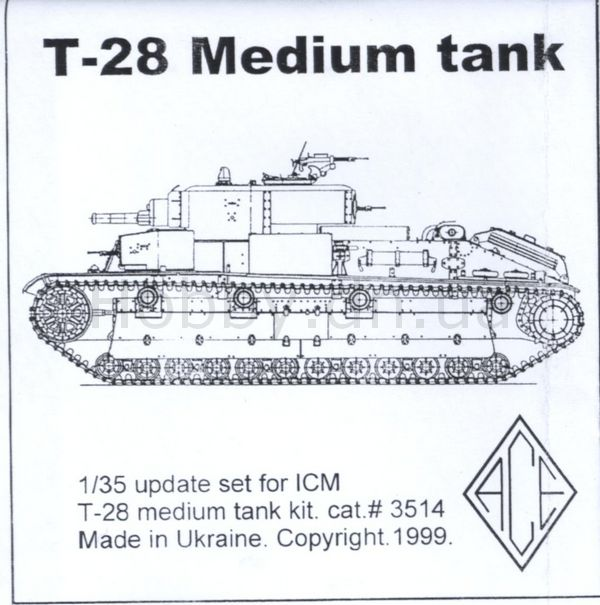 PE3514 Medium Tank T-28 (for ICM) Image