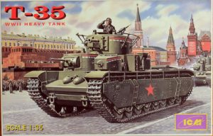 35043 T-35 Soviet Heavy Tank Image