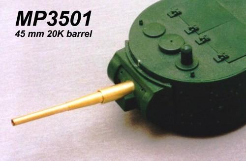 MP3501 45mm 20K barrel Image