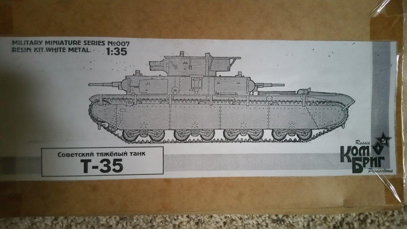 007 Soviet Havy tank T-35 Image