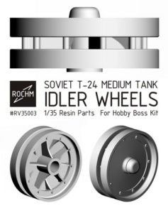 RV35003 Soviet T-24 Idler Wheels Image