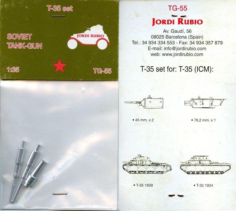 TG-55 T-35 set Image