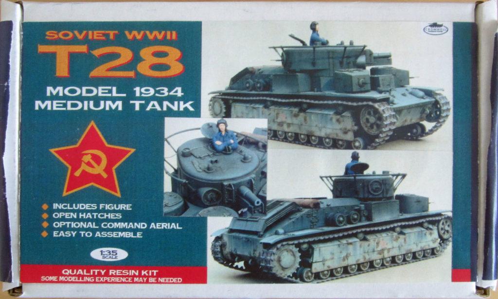 T28 Model 1934 Medium Tank Image
