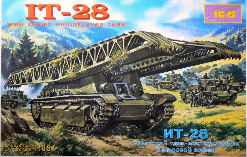 35081 IT-28 Soviet Bridgelayer Tank Image
