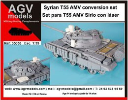 35058 Syrian T 55 AMV conversion set Image