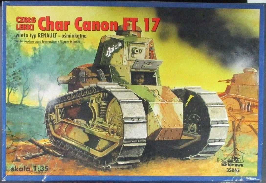 35065 Renault FT Char Canon Image