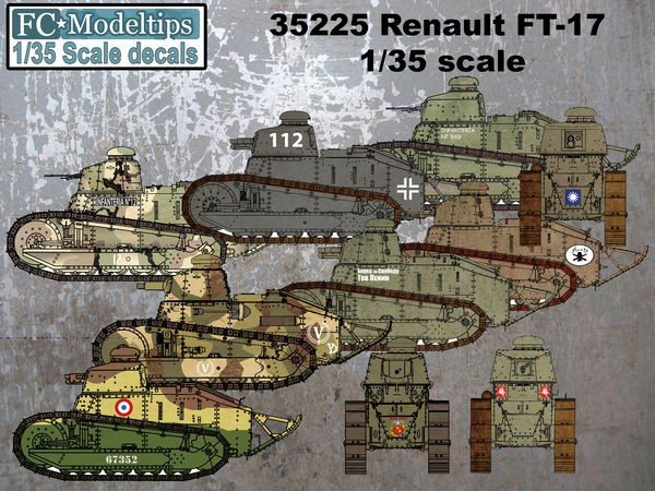 35225 Renault FT-17 Image