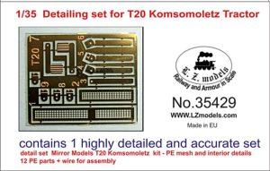 35429 Detailing set for T20 Image