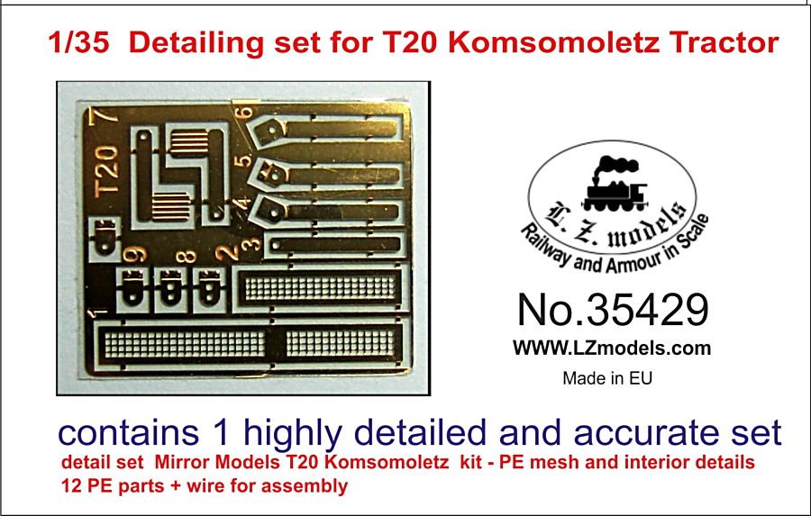 35429 Detailing set for T20 Image