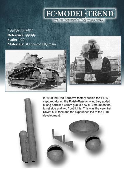 35453 Soviet FT-17 Image