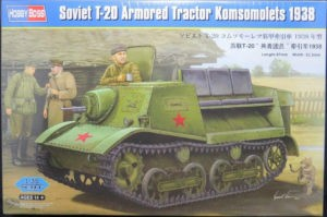 83847 T-20 Komsomolets 1938 Image