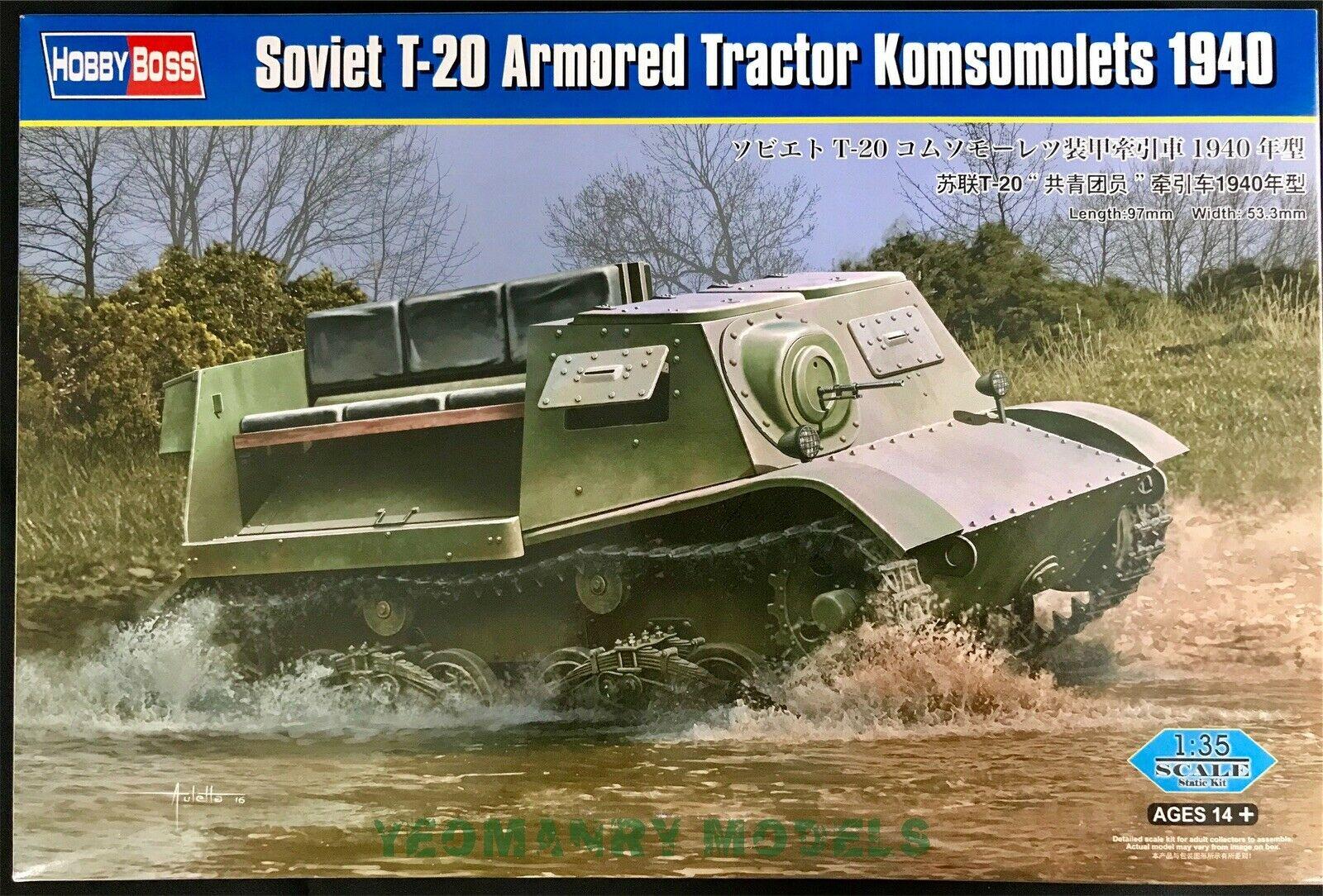 83848 T-20 Komsomolets 1940 Image