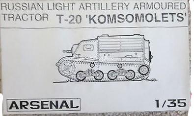 T-20 Komsomolets Image