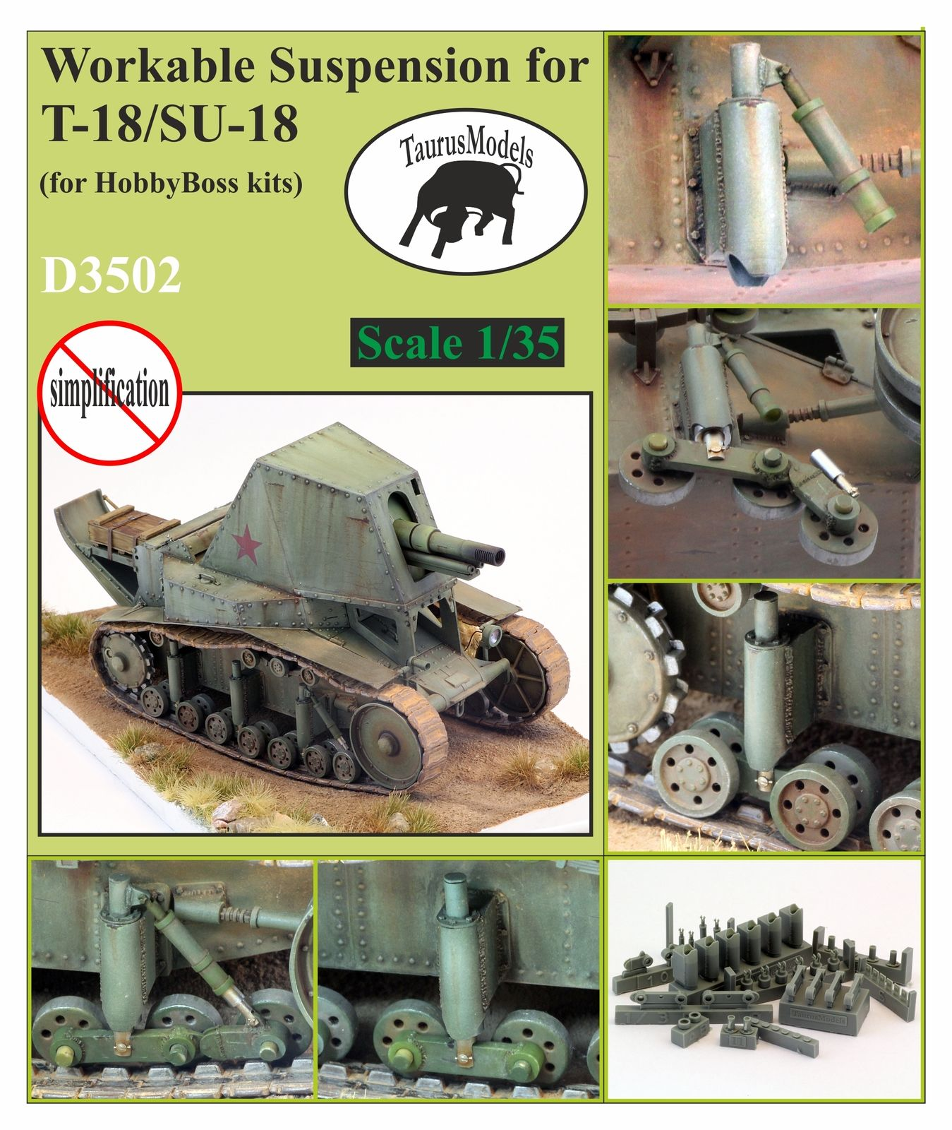 D3502 Suspension for T-18/SU-18 Image