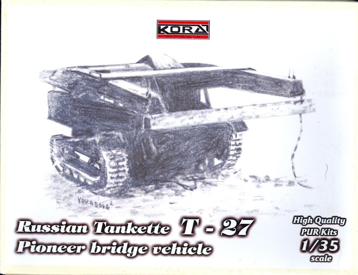 35013 T-27 Pioner bridge vehicle Image