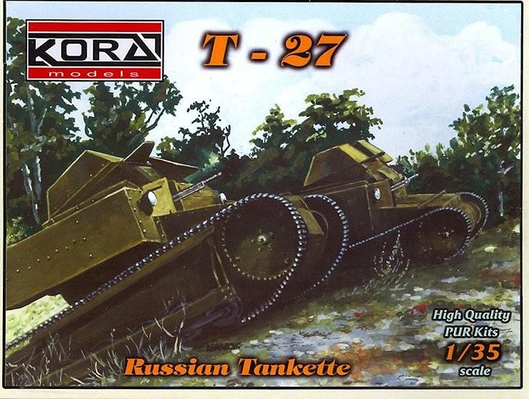 35007 T-27 Russian Tankette Image