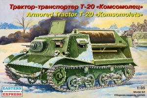 35004 Armored tractor T-20 Image