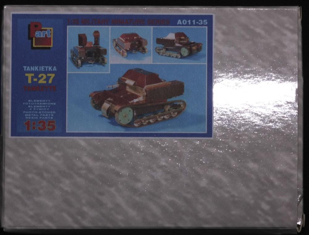 A011-35 T-27 Tankette Image