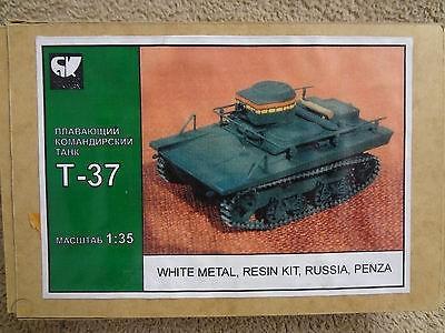 Commander Tank T-37 Image