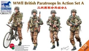 CB35177 British Paratroops Image