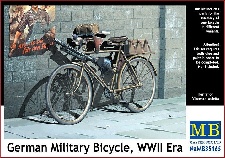 MB35165 German Military Bicycle Image