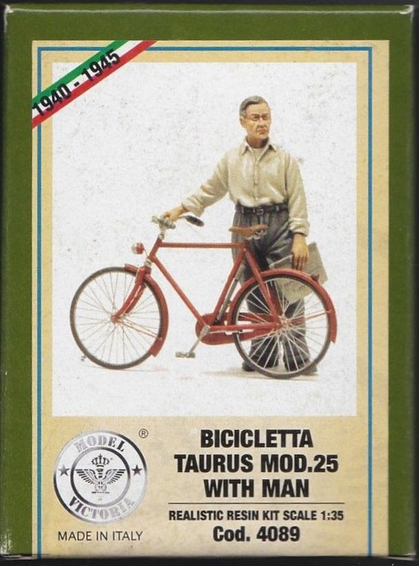 4089 Taurus Bicycle w/man Image