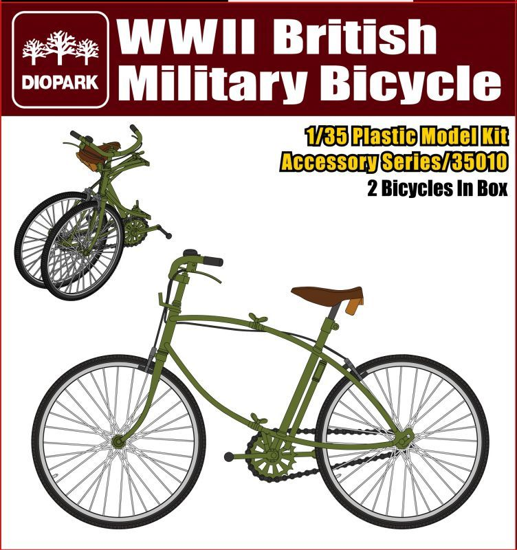 DP35010 British Military Bicycle Image