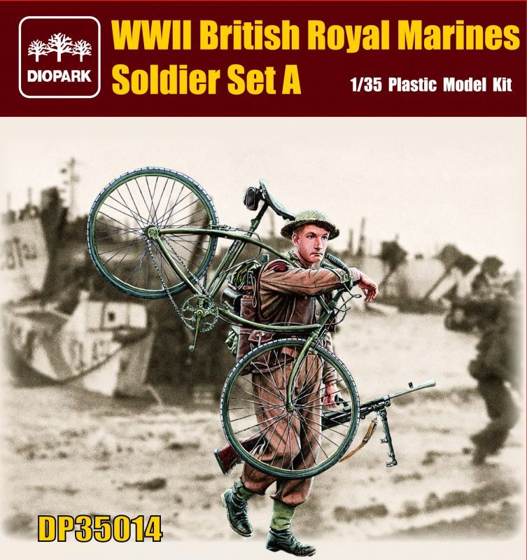 DP35014 British Soldier Set A Image