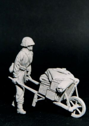 35-502 German Push Wheel-Barrow Image