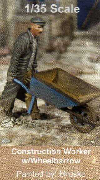 CO 0108 Worker w/Wheelbarrow Image