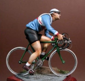 F206 Cyclist The forties Image