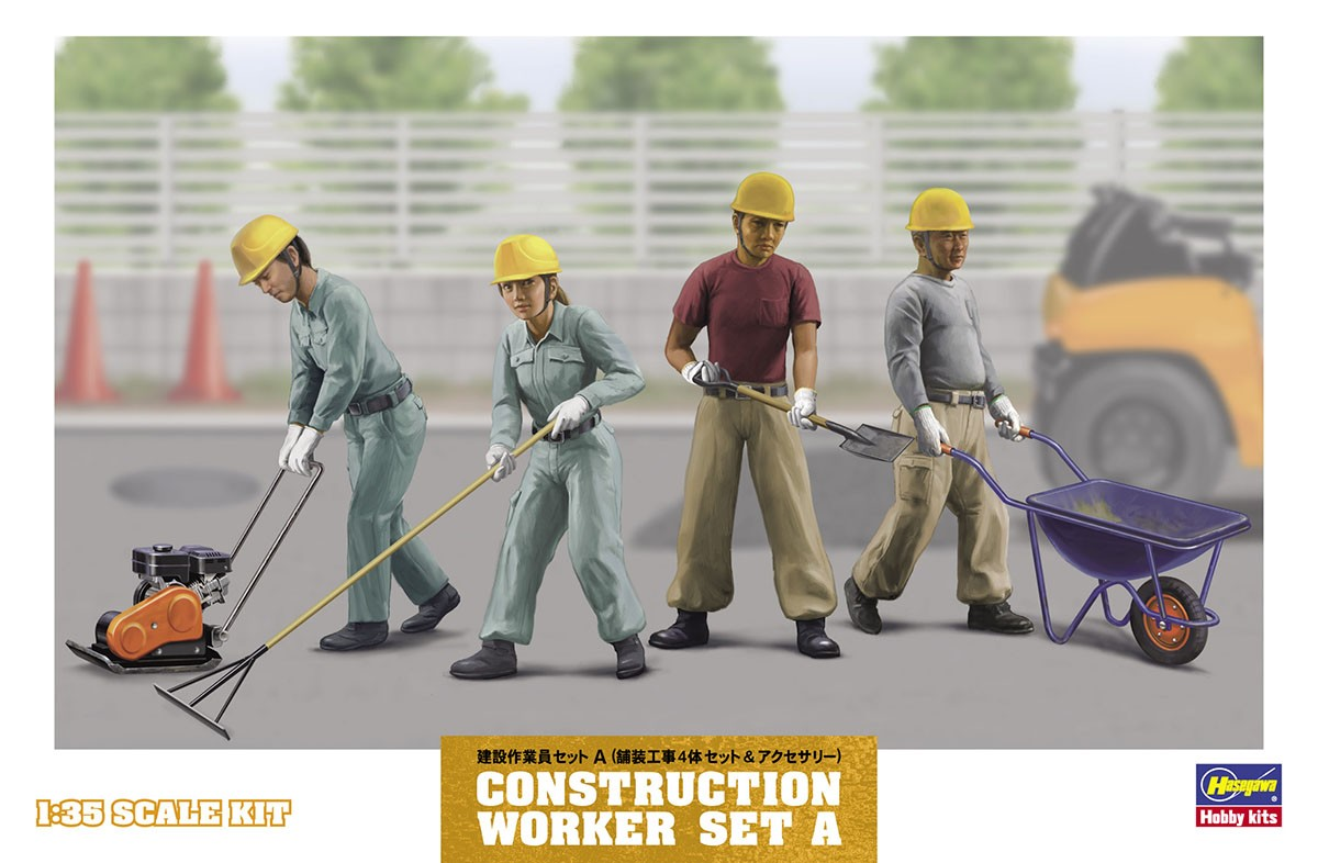 WM03 Construction Worker Set A Image