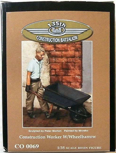 CO 0069 Worker w/Wheelbarrow Image