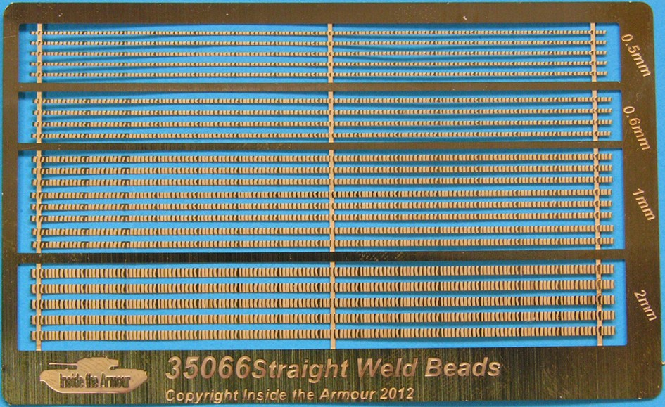 35066 Etched Straight Weld Beads Image