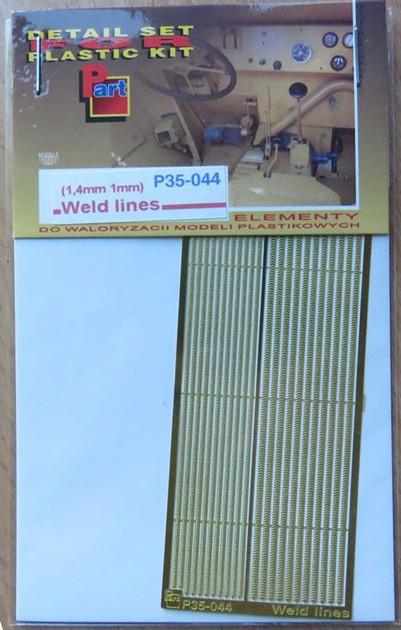 P35 044 Weld Lines (1.4mm, 1mm) Image