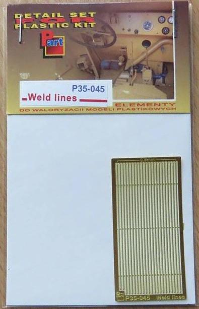P35 045 Weld Lines (0.8mm) Image