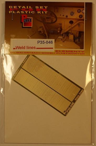 P35 046 Weld Lines (0.35mm, 0.6mm) Image