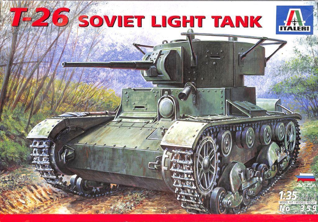 359 T-26 Soviet Light Tank Image