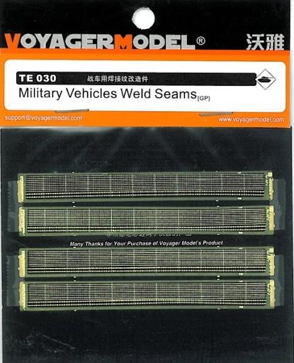 TE030 Military Vehicles Weld Mark Image