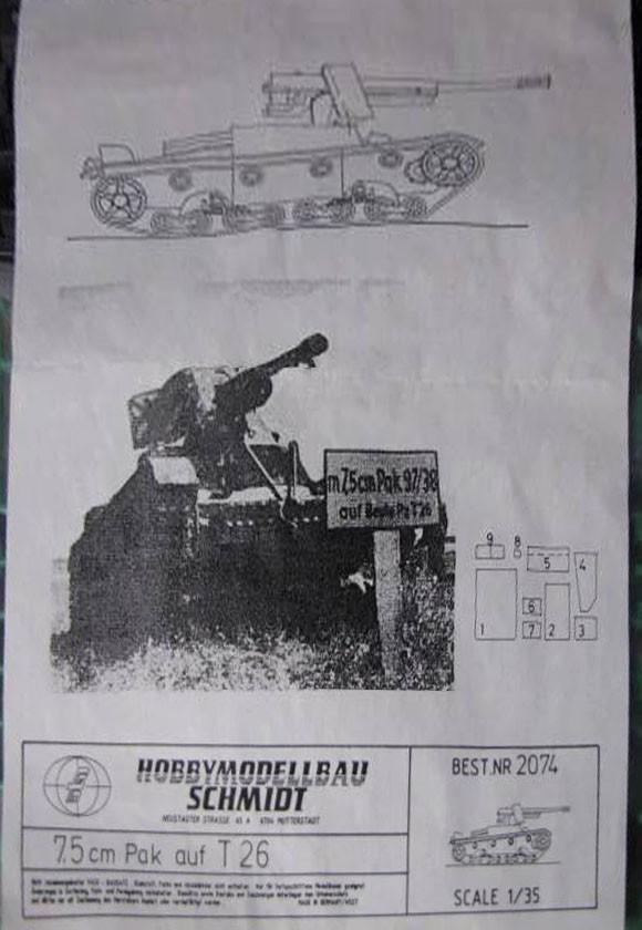 20174 7,5 cm Pak 97/38(f) auf T-26 Image