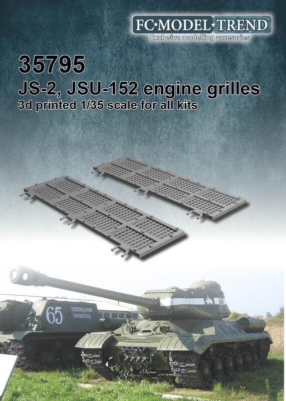 35795 JS-2, JSU-152 engine grilles Image