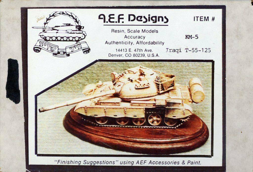 KM-5 Iraqi T-55-125 Image