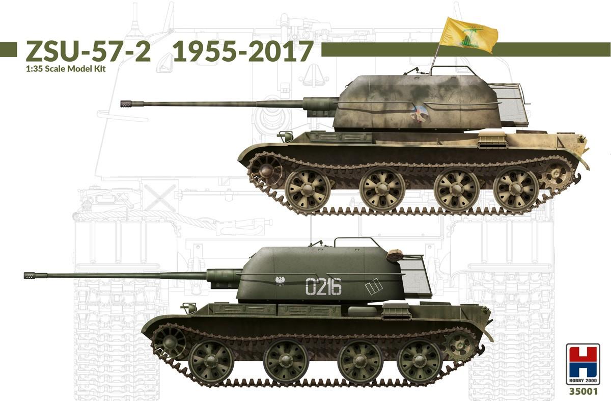 H2K35001 ZSU-57-2 1955-2017 Image