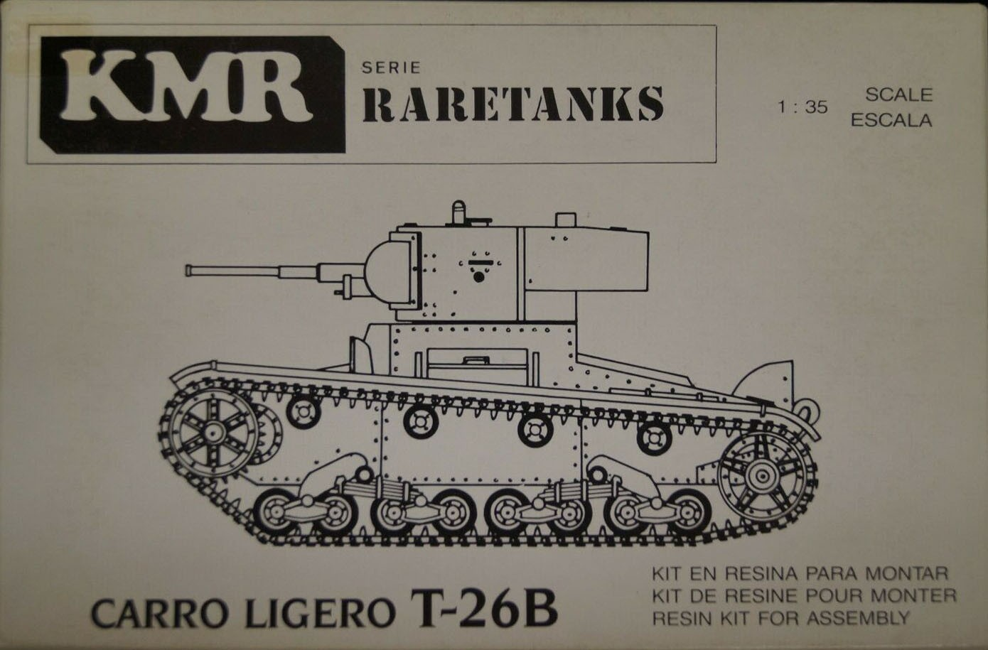 RT-023 Light Tank T-26B Image