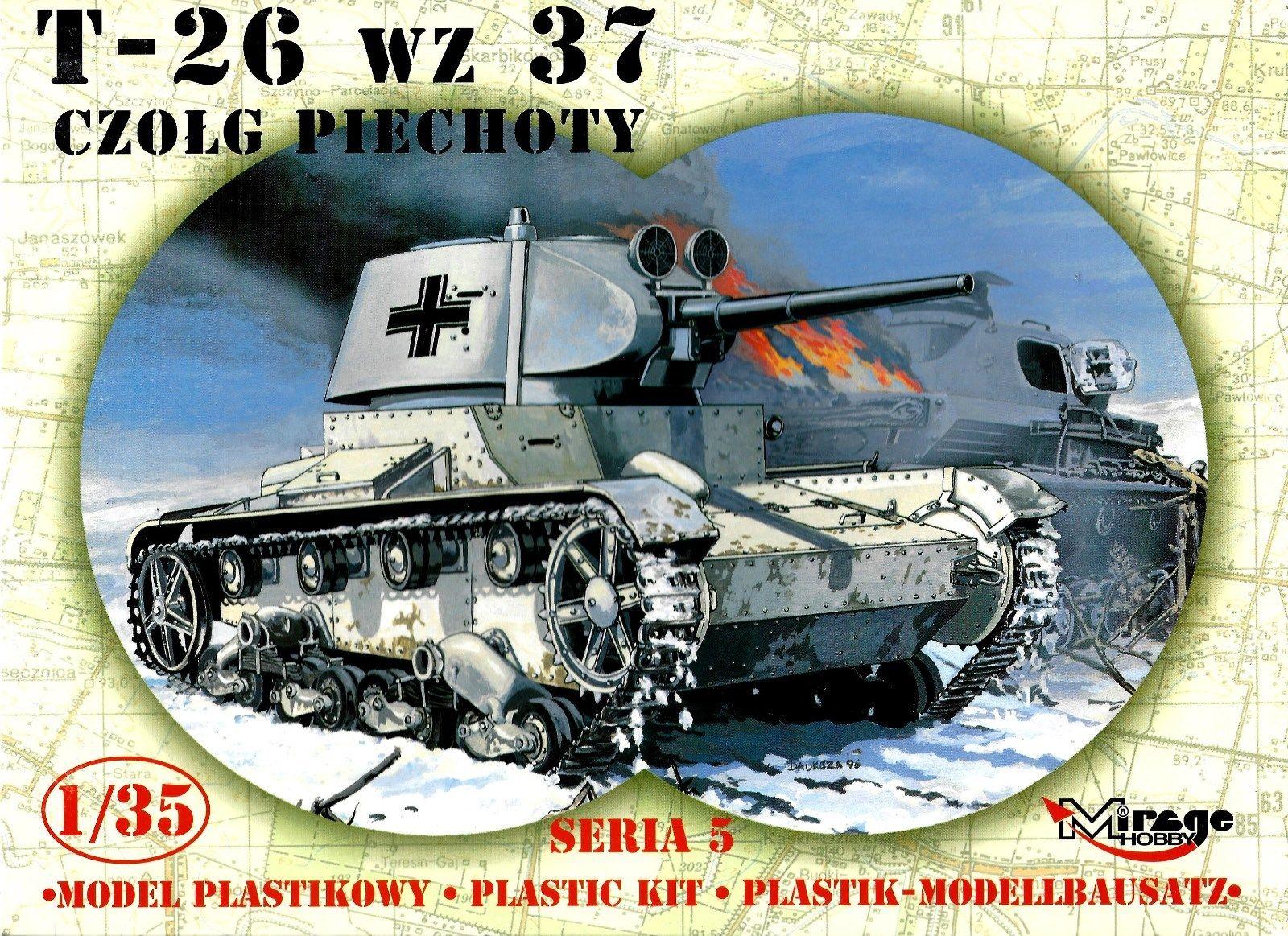 35308 T-26 Infantry Tank. Seria 5 Image
