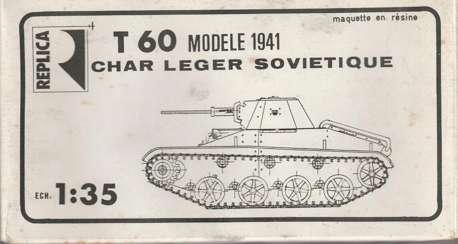 T 60 Modele 1941 Char Leger Sovietique Image