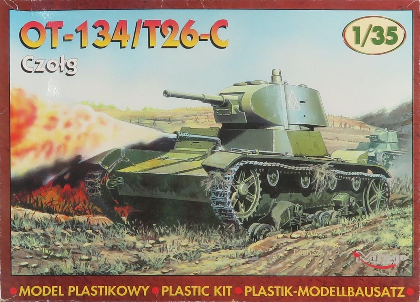 35309 Tank OT-134 / T26-C Image