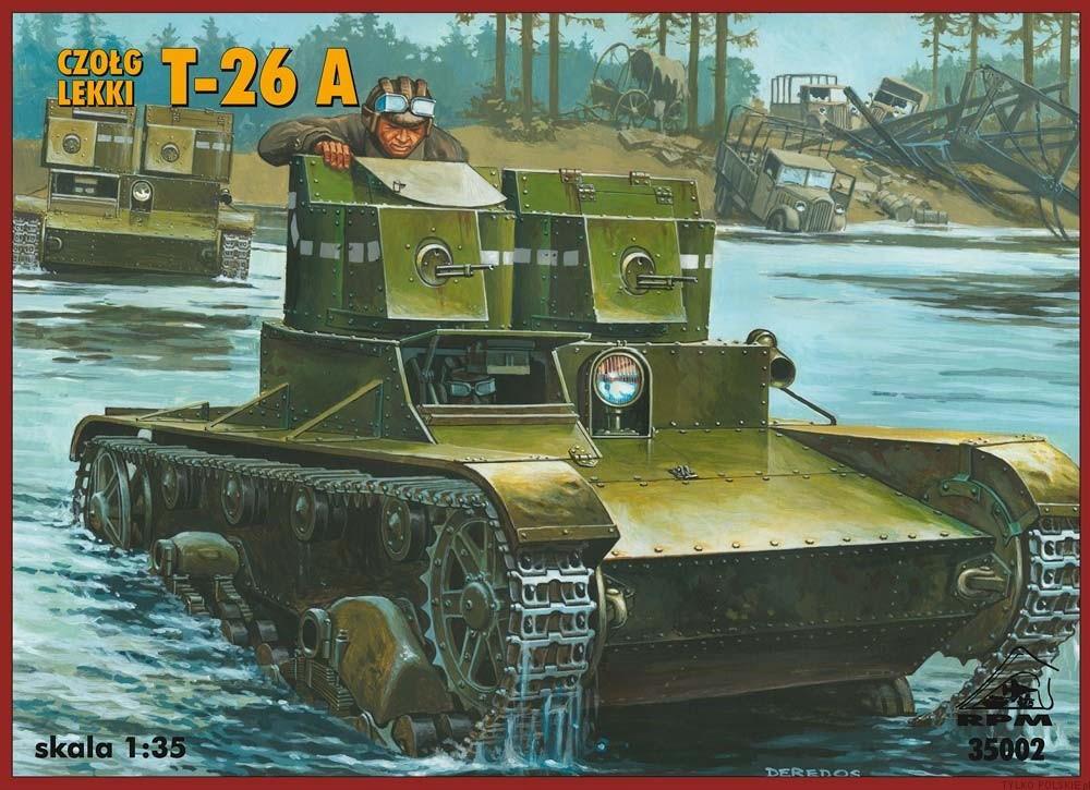 35002 Light tank T-26A Image